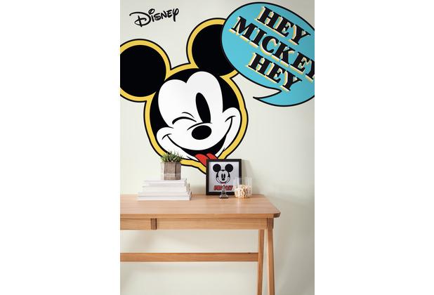 "Komar Selbstklebende Vlies Fototapete \""Mickey Hey XXL\"" 127 x 200 cm"