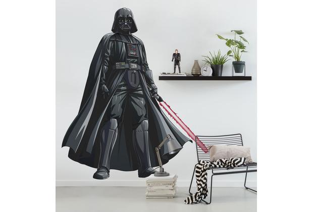 "Komar Selbstklebende Vlies Fototapete \""Star Wars XXL Darth Vader\"" 127 x 200 cm"