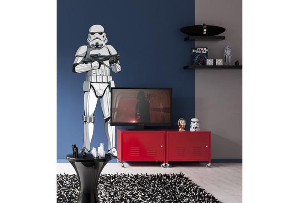 "Komar Selbstklebende Vlies Fototapete \""Star Wars XXL Stormtrooper\"" 127 x 188 cm"