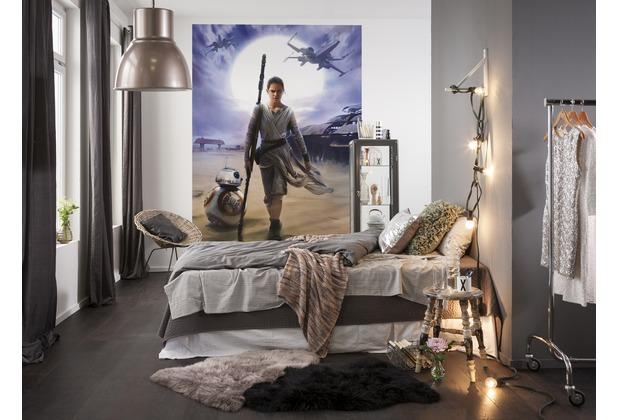 Komar Fototapete STAR WARS Rey