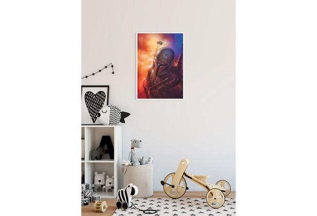 Komar Star Wars Wandbild Star Wars Classic Mandalorian 30 x 40 cm