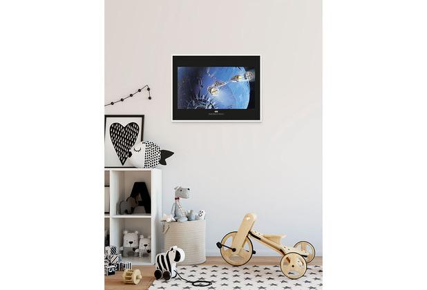 Komar Star Wars Wandbild Star Wars Classic RMQ Death Star Attack 40 x 30 cm