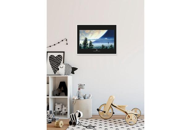 Komar Star Wars Wandbild Star Wars Classic RMQ Yavin Lookout 40 x 30 cm