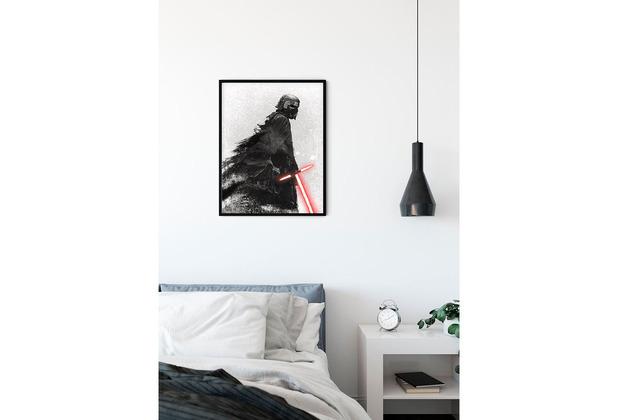 Komar Star Wars Wandbild Star Wars EP9 Kylo Vader Shadow 30 x 40 cm
