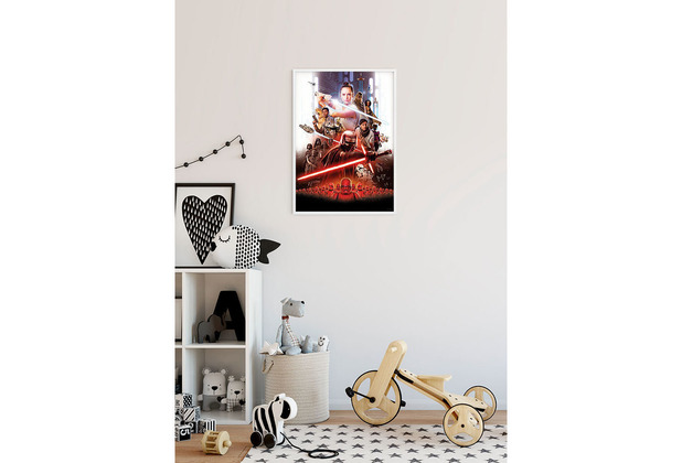 Komar Star Wars Wandbild Star Wars Movie Poster Rey 30 x 40 cm