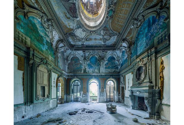 "Komar Stefan Hefele / Lost Places Vlies Fototapete \""Palazzo blu\"" 350 x 280 cm"