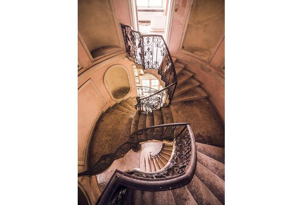 """Komar Stefan Hefele / Lost Places Vlies Fototapete \""""Scala Artistica\"""" 200 x 280 cm"""