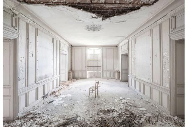 """Komar Stefan Hefele / Lost Places Vlies Fototapete \""""White Room II\"""" 400 x 280 cm"""