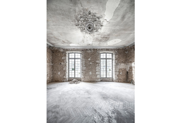 "Komar Stefan Hefele / Lost Places Vlies Fototapete ""White Room IV\"" 200 x 280 cm"
