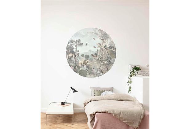 Komar Utopia 125 x 125 cm Fototapete Dots