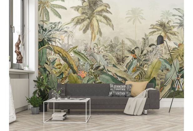 "Komar Vlies Fototapete \""Amazonia\"" 368 x 248 cm"