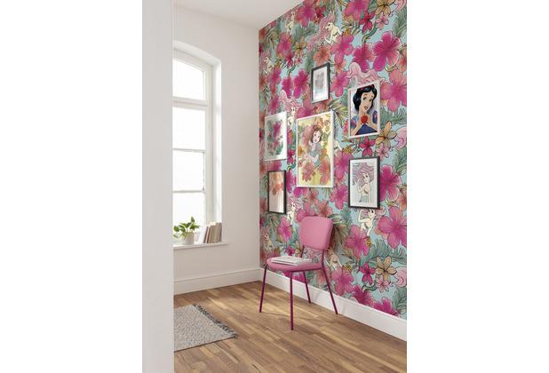 "Komar Vlies Fototapete \""Ariel - Pink Flower\"" 200 x 280 cm"