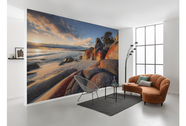 "Komar Vlies Fototapete \""Bay of Fires\"" 400 x 280 cm"
