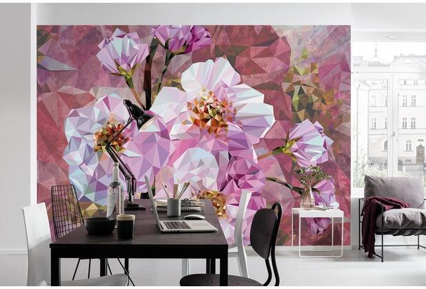 """Komar Vlies Fototapete \""""Blooming Gems\"""" 368 x 248 cm"""