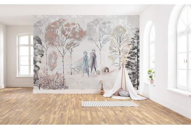 "Komar Vlies Fototapete \""Frozen Natural Spirit\"" 400 x 280 cm"