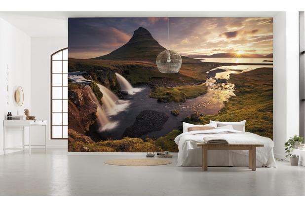 """Komar Vlies Fototapete \""""Guten Morgen auf Isländisch\"""" 400 x 250 cm"""
