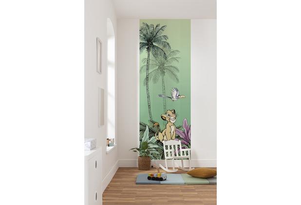 "Komar Vlies Fototapete \""Jungle Simba\"" 100 x 280 cm"