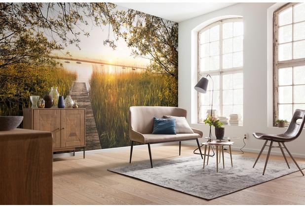 """Komar Vlies Fototapete \""""Lakeside\"""" 368 x 248 cm"""