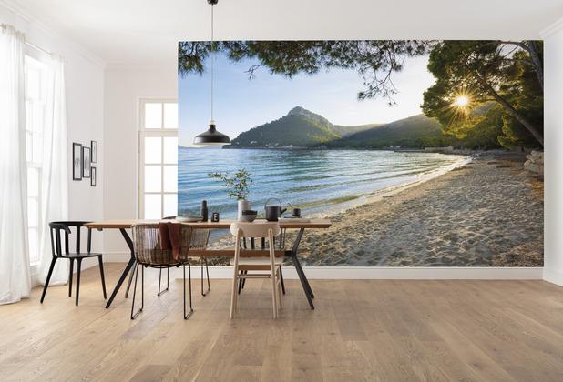 "Komar Vlies Fototapete \""Lonely Paradise\"" 450 x 280 cm"