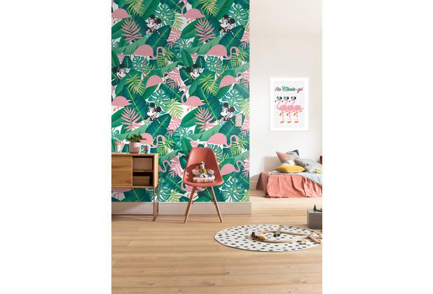 "Komar Vlies Fototapete \""Minnie Tropical\"" 200 x 280 cm"