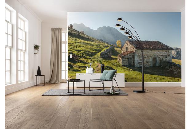 "Komar Vlies Fototapete \""Picos de Europe Alm\"" 450 x 280 cm"