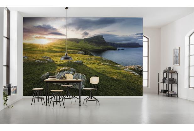 "Komar Vlies Fototapete \""Scottish Paradise\"" 450 x 280 cm"