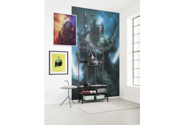 "Komar Vlies Fototapete \""Star Wars Classic Bounty Hunter\"" 150 x 280 cm"