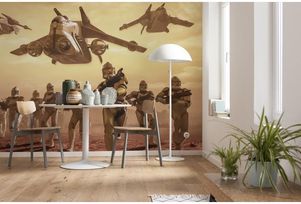 Komar Vlies Fototapete Star Wars Classic Clone Trooper 400 x 260 cm