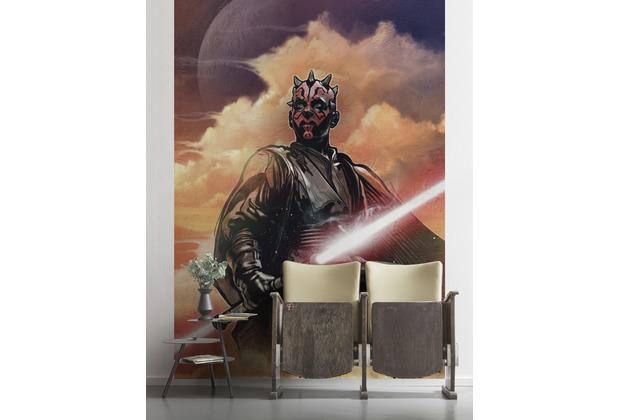 """Komar Vlies Fototapete \""""Star Wars Classic Darth Maul\"""" 200 x 280 cm"""