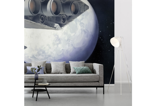 Komar Vlies Fototapete Star Wars Classic RMQ Stardestroyer 500 x 250 cm