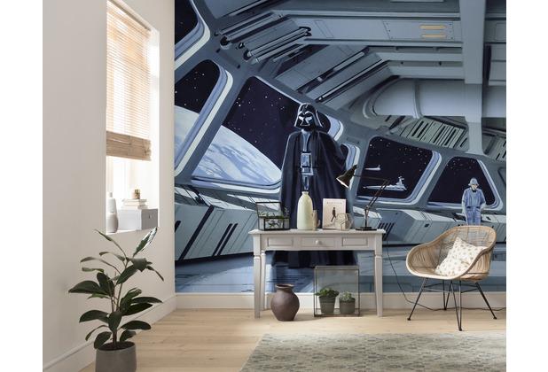 "Komar Vlies Fototapete \""Star Wars Classic RMQ Stardestroyer Deck\"" 500 x 250 cm"
