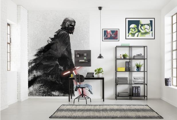 "Komar Vlies Fototapete \""Star Wars Kylo Vader Shadow\"" 250 x 280 cm"