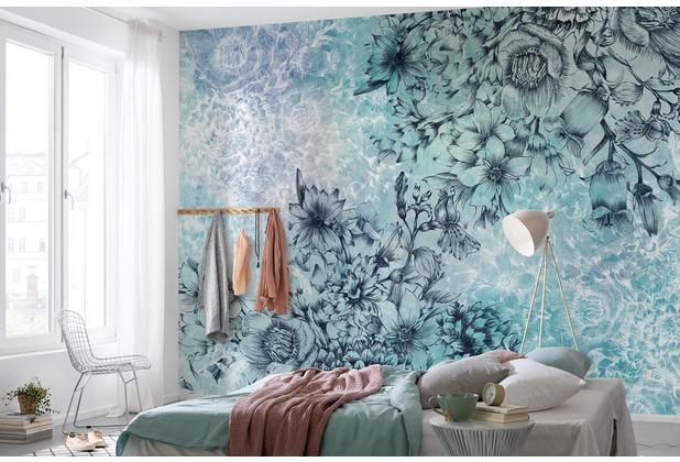 "Komar Vlies Fototapete \""Windflowers\"" 368 x 248 cm"