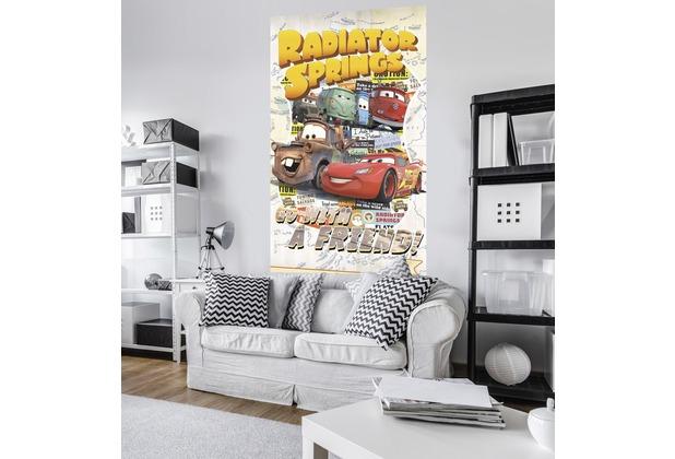 """Komar Vlies Panel \""""Cars Take The Open Road\"""" 120 x 200 cm"""