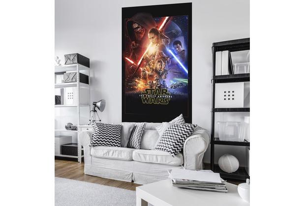 "Komar Vlies Panel \""Star Wars EP7 Official Movie Poster\"" 120 x 200 cm"