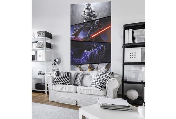 "Komar Vlies Panel \""Star Wars Moments Imperials\"" 120 x 200 cm"