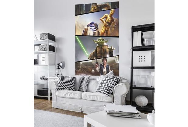 "Komar Vlies Panel \""Star Wars Moments Rebels\"" 120 x 200 cm"