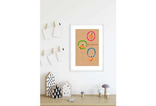 Komar Wandbild ABC Animal O 30 x 40 cm