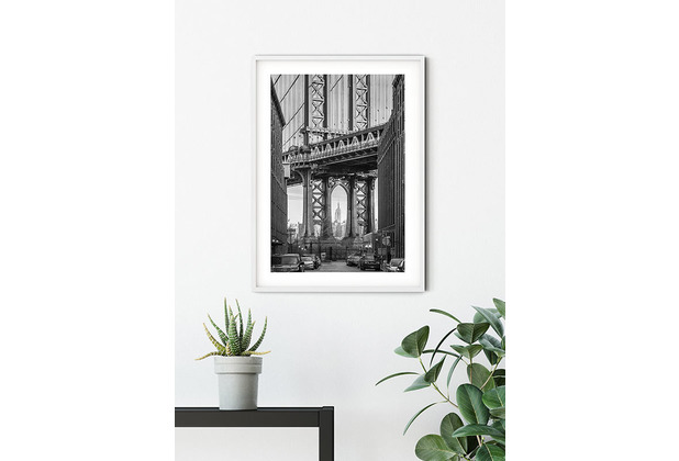 Komar Wandbild Brooklyn Bridge 30 x 40 cm