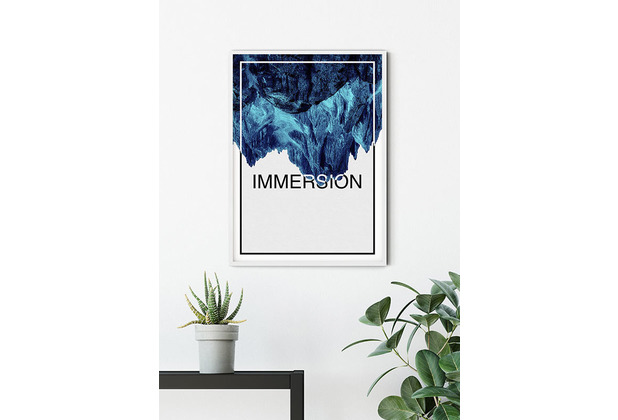 Komar Wandbild Immersion Blue 30 x 40 cm