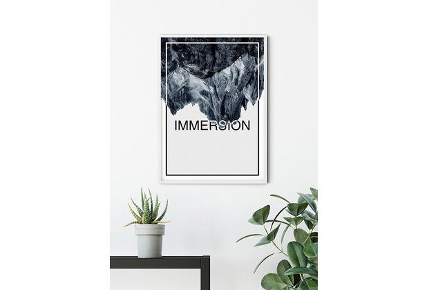 Komar Wandbild Immersion Steel 30 x 40 cm