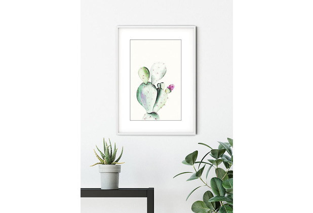 Komar Wandbild Prickly Pear Watercolor 30 x 40 cm