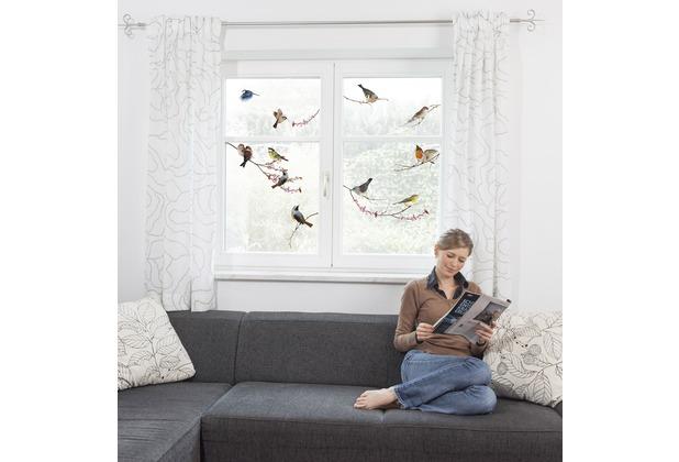 Komar Window-Sticker Birds 31 x 31 cm