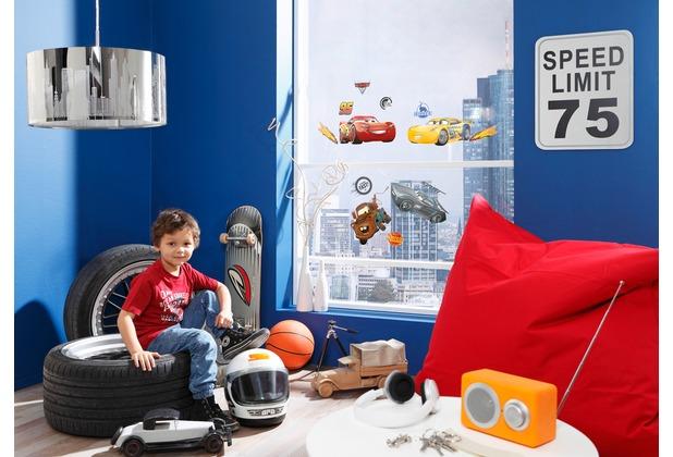 "Komar Window-Sticker \""Cars3\"" bunt"