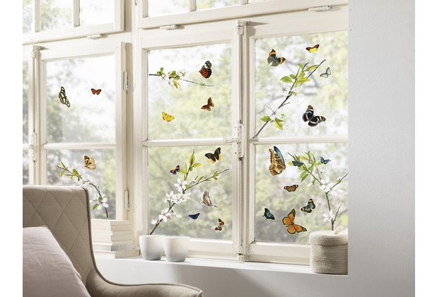 "Komar Window-Sticker \""Cheerful\"" 31 x 31 cm"