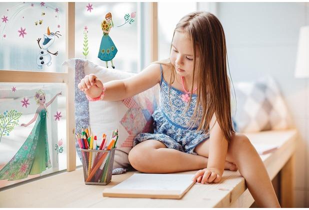 """Komar Window-Sticker \""""Frozen Flower\"""" 31 x 31 cm"""