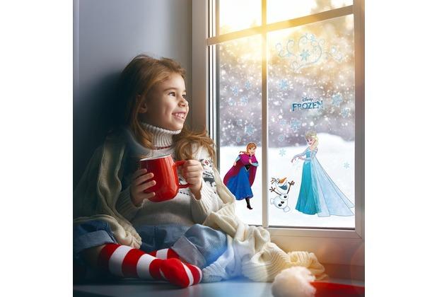 "Komar Window-Sticker \""Frozen Snowflake\"" 31 x 31 cm"