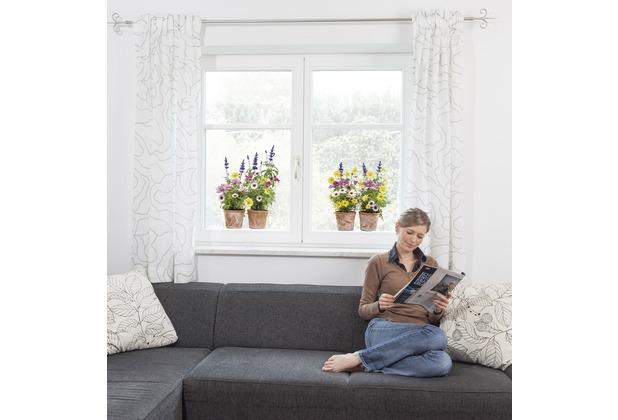 """Komar Window-Sticker \""""Springtime\"""" 31 x 31 cm"""