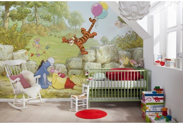 Komar Fototapete Winnie Pooh Ballooning