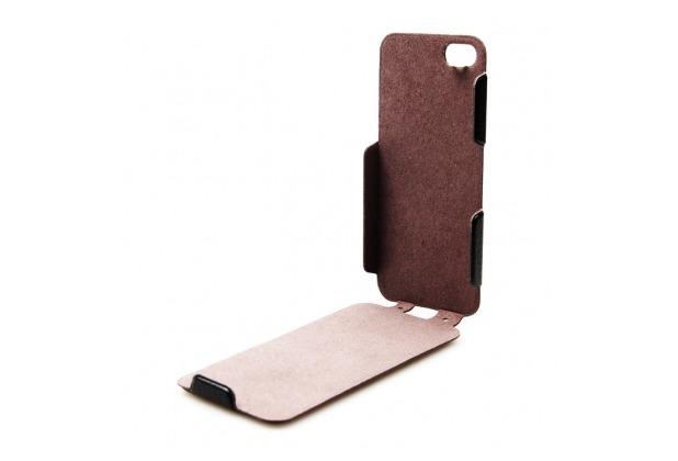 Konkis PU Flip Tasche/Hülle/Case - Apple iPhone 5/5S/SE